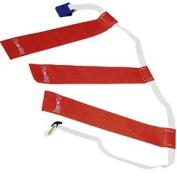 Ssg - Bsn 1149487 Triple Threat Flag Football Belts - Red Football Flag