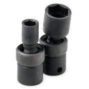 S K Hand Tools SKT33367 .38in. Drive 6 Point Swivel Impact Socket 17Mm