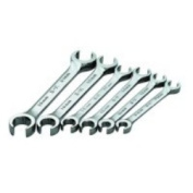 S K Hand Tools SKT376 SuperKorme Metric Flare Nut Wrench Set - 6 Pieces