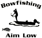 Western Recreation Ind 4108 Bowfishing Decal White 5.5X6