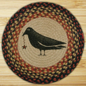 Capitol Importing 49-CH919CS Crow & Star - 15.5 in. Round Chair Pad