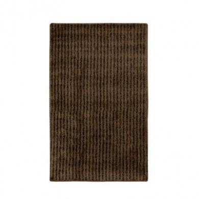 Garland Rug SHE-3050-14 Sheridan 30 in. x 50 in. Plush Washable Nylon Rug Chocolate