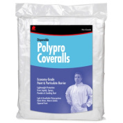 Buffalo Industries Extra Extra Large Disposable Polypro Coveralls 68518