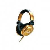 IDANCE FDJ500 Optimised Audio Driver Professional Super Bass Over Headphones - Gold-Black