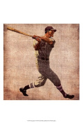 Posterazzi OWP77139D Vintage Sports VI Poster by John Butler -13.00 x 19.00