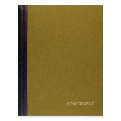 Roaring Spring Paper Products 77272 Earthtone Sugarcane Comp Book - 80 Sheets Per Book