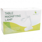Daylight Company UN1040 Table Magnifying Lamp White