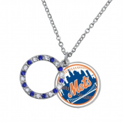 Game Time Group 101614 MLB New York Mets Disc Necklace