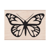 Hero Arts HA-F-F5158 Hero Arts Mounted Rubber Stamps 11cm . x 2.5cm .-Heart Winged Butterfly Mounted Stamp