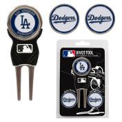 Team Golf 96345 MLB Los Angeles Dodgers - 3 Mkr Sign Dvt Pk