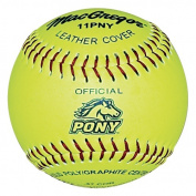 MacGregor Pony League Approved Softballs, 1 Dozen