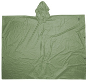 Custom Leathercraft Green PVC Poncho R10420