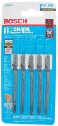 Bosch-rotozip-skil T-Shank Wood Jig Saw Blades 3-.63.5cm . T101AO