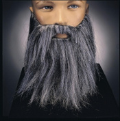 Costumes For All Occasions Ru2045Gy Full Beard And Mustache Grey
