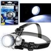 Hawk 75-FL17 Super Bright 7 LED Headlamp with Adjustable Strap