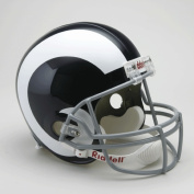 Victory Collectibles 30319 Rfr Tb Los Angeles Rams 1965 - 72 Full Size Replica Throwback Helmet