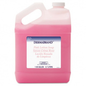 Dermabrand 410CT Mild Cleansing Pink Lotion Soap- Pleasant Scent- Liquid- 3.8lBottle- 4/Carton