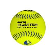 Worth Protac Official USSSA Men'S Super Gold Dot Slowpitch Softball-30cm - 1 Dozen