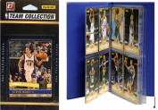 C & I Collectables 2010SUNSTS NBA Phoenix Suns Licenced 2010-11 Donruss Team Set Plus Storage Album