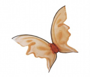 Costumes For All Occasions Fw90456Or Wings Butterfly Orng Hot Color