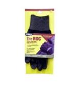 MAGID MGLROC20TL The ROC Polyurethane Coated Palm Black Nylon Shell Glove - Large