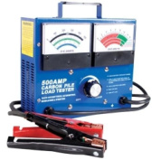 FJC, Inc. 45115 500 Amp Carbon Pile Battery Tester