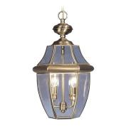 Livex 2255-01 Monterey Outdoor Light- Antique Brass