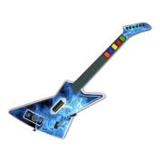 DecalGirl GHX-QWAVES-BLU Guitar Hero X-plorer Skin - Blue Quantum Waves