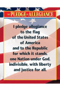 Creative Teaching Press CTP5340 Pleadge Of Allegiance