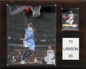 C & I Collectables 1215LAWSON NBA 12 X 15 Ty Lawson Denver Nuggets Player Plaque