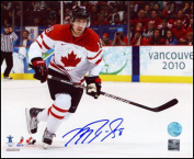 AJ Sports World RICM996020 MIKE RICHARDS Team Canada SIGNED 2010 Olympic 8x10 Photo