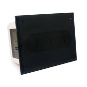 CMPLE 524-N Wall plate- Recessed Media Box Black