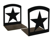 Village Wrought Iron BE-45 Star Bookends