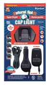 Import Merchandisers 308G3ACDC Rechargeable Cap Light with AC, DC, USB Adaptors