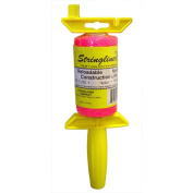 Stringliner .50 Lb Twisted Pink Nylon Pro Reel Reloadable Construction Line 2540
