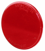 Peterson Mfg. Red Round Stick-On Reflector V475R