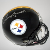 Victory Collectibles VIC-000164-30530 Terry Bradshaw Autographed Pittsburgh Replica Helmet