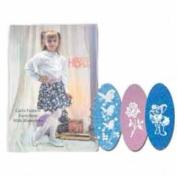 DDI 401080 Girls Fashion Pantyhose with Rhinestone