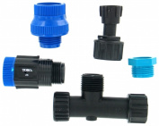 Toro Irrigation Systems Blue Stripe Drip Water Source Installation Kit Blacks 53756