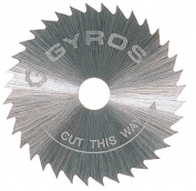 Gyros Precision Tools Inc .190.5cm . Course Tooth Gyros Steel Saw Blade 81-20715