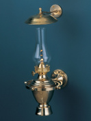 Weems & Plath 718 Atlantic Gimbal Lamp with Smoke Bell