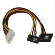 STARTECH PYO2LP4LSATR POWER TWO SATA DRIVES FROM A SINGLE LP4 POWER SUPPLY CONNECTOR - MOLEX TO DUAL S