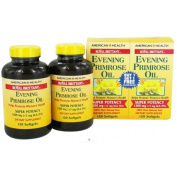 American Health Royal Brittany Evening Primrose Oil 1 300 mg 120 softgels twin pack  .   217196