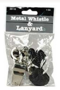 Baumgartens 20110 Whistle with Lanyard - Pack of 24