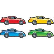 CARSON DELLOSA CD-120117 RACE CARS CUT OUTS