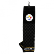 Target.com Use Only BLACK Embroidered Towel-Steelers