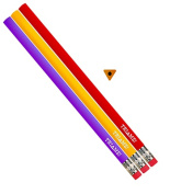 Musgrave Pencil Co Inc MUSTRIME Tri Me Intermediate Pencils 12Pk