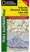 National Geographic TI00000141 Map Of Telluride-Silverton-Ouray-Lake City - Colorado