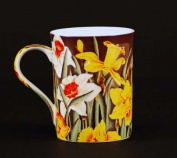 Euland China FL0-005D Set Of Two 350ml Mugs - Daffodils