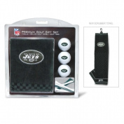 Team Golf 32020 New York Jets Embroidered Towel Gift Set